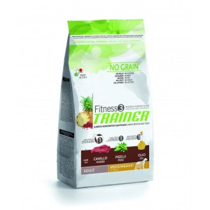 TRAINER FITNESS 3 ADULT M-M with HORSE-PEAS-OIL 12,5 KG